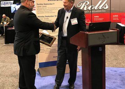 MARTS award handshake